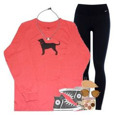 """""""[ rtd ]"""" by ellaswiftie13 ❤ liked on Polyvore featuring NIKE, Converse, tarte, Ray-Ban and NARS Cosmetics"""