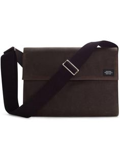 Jack Spade Waxwear Atlas Case. When I downsize my computer, this is my likely bag. $250
