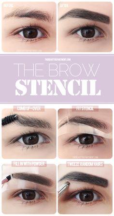 The Brow Stencil