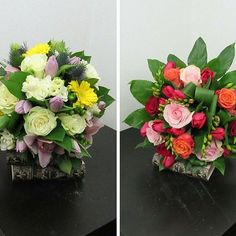 Can't decide which one to choose! Flowers Delivered, Floral Wreath, Wreaths, Rose, Colors, Instagram Posts, Decor, Floral Crown, Pink