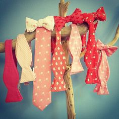 Order you beau a bow now to receive in time for Valentine's Day! #valentinesday #valentinegift #giftsforhim #gift #giftsforguys #uniquegifts #thoughtfulgift #bowties #pink #red #vday #spreadthelove #handmadebowties #madeinusa #madeinthesouth #preppy #southernstyle