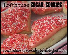"LOFTHOUSE SUGAR COOKIES per the blog: ""These cookies are those amazing cookies you can buy at the grocery store, they are called Lofthouse Sugar Cookies, not sure if this is the exact recipe, I am just copying, from another copy, but I will say they taste just like them.  I made a few different versions and am only posting the one we like the best."""