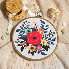 Xstitch floral cross stitch pattern xstitch modern cross