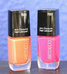 #artdeco #nagellack #nailpolish #apricot #pink