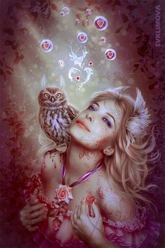 Want to discover art related to owl? Check out inspiring examples of owl artwork on DeviantArt, and get inspired by our community of talented artists. Fantasy Comics, Fantasy Art, Owl Artwork, Camera World, Deep Winter, Christmas Fairy, Beauty Portrait, Fairy Tales, Digital Art