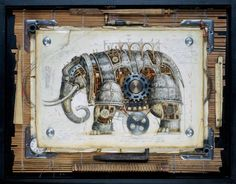 Steampunk Mechanical Animals