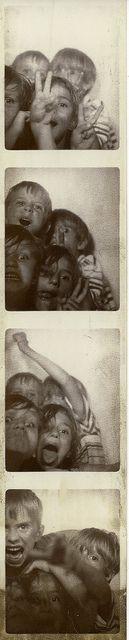 kids #vintage photo booth
