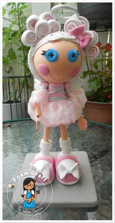 Cloud E. Sky lalaloopsy foam doll by julissagarcia2 on Etsy, $19.95