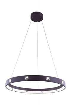 Elegant Lighting - 2096 Infinity Collection Hanging Fixture Fixture D29.5in H2.5in. The circle has been known since before the beginning of recorded history. With the Infinity Collection you have the power of the circle lighting up your home or workplace. There are several variations to choose from as well as colors. Each circle is embedded with square cut crystals and led lights ringed around the inner rim for Maximeum effectSpecifications:  Style Contemporary   Collection Infinity…
