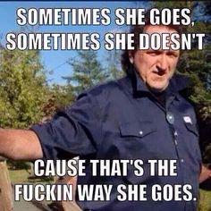Ray, trailer park boys, way she goes