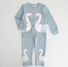 Winter Girls Clothing Sets Active Boys Clothing Sets Children Clothing Cartoon Print Sweatshirts+Pants Cotton Kids Suit Oh just take a look at this! Toddler Girl Outfits, Boy Outfits, Toddler Girls, Baby Girls, Baby Boutique Clothing, Clothing Sets, Boutique Shop, Tracksuit Pants, Lace Sweatshirt