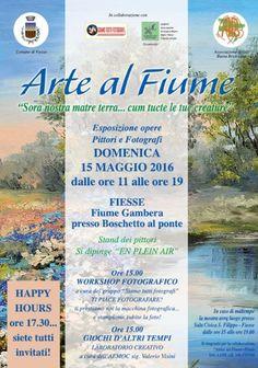 Arte al Fiume a Fiesse http://www.panesalamina.com/2016/47232-arte-al-fiume-a-fiesse.html