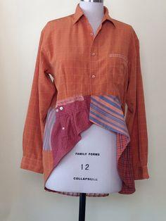 Like the use of sleeve on bottom. Men's Shirts-New Life
