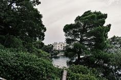 Miramare Castle near Trieste Trieste, Costa, River, Outdoor, Italia, Park, Outdoors, Outdoor Living, Garden