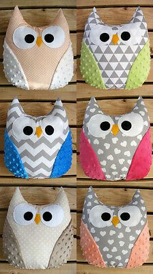 Owl Fabric, Fabric Toys, Fabric Crafts, Burlap Pillows, Baby Pillows, Decorative Pillows, Owl Sewing, Baby Sewing, Diy Pillow Covers
