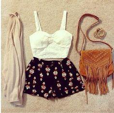 Teen fashion Summer Outfit for • teens • movies • girls •fun • summer