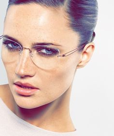 You have never seen or felt frames like this before. Handmade in Denmark and often recognized as the finest eyewear in the world. Cute Glasses, New Glasses, Girls With Glasses, Glasses Frames, Glasses Sun, Womens Designer Glasses, Womens Glasses, Rimless Glasses, Fashion Eye Glasses