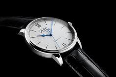 Glashutte Original Senator Excellence with Caliber 36 - steel case silver dial - Perpetuelle
