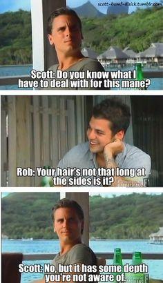 Scott Disck and Rob Kardashian. #KUWTK