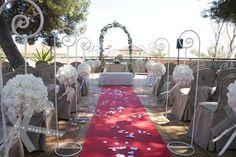 Beautiful Wedding blessing set up.