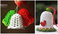 ochet Christmas Bells Ornaments Free Patterns-Video