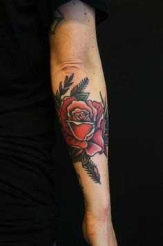 dane mancini soos perfect position rose traditional tattoo