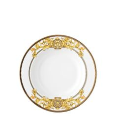 The Home Collection - Versace Rosenthal Dinnerware / Asian Dream Rim Soup Plate $104.00