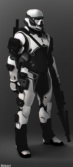 Appears to be a Neo Stormtrooper - Very stylised and modern!