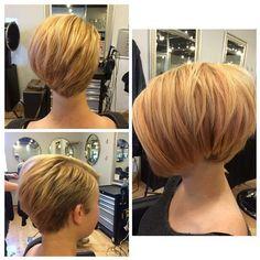 Боб-каре на короткие волосы