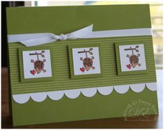 Hang In There using Stampin Up Mini Mates