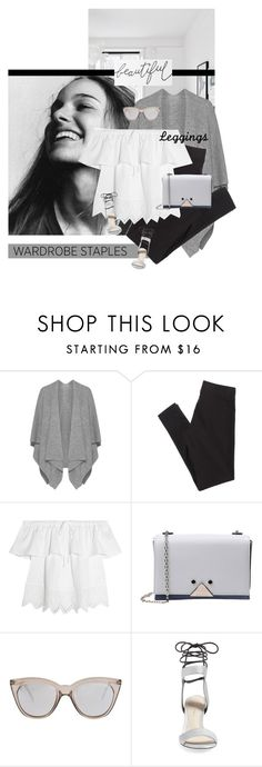"""""""Sticks"""" by chebear ❤ liked on Polyvore featuring Peter Rutz, American Eagle Outfitters, Madewell, Emporio Armani, Le Specs, 3.1 Phillip Lim, Leggings and WardrobeStaples"""