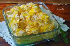 Receitas de pecados no prato: Farofias de forno com doce de ovos