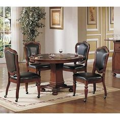 5-Piece Game Table Set | Nebraska Furniture Mart
