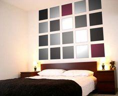Utilización de la geometría en la decoración de paredes