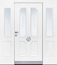 Pieno Haustüre Modell Schwarzwald in weiß. Die exklusiven Pieno Haustüren jetzt auch bei Fenster-Schmidinger in Gramastetten in Oberösterreich erhältlich. Infos auf unserer Website www.fenster-schmidinger.at #Haustüren #Doors #Eingangstüren #Exklusiv #Pieno #Modell #Schwarzwald