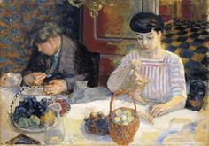 The Hour of the Beasts:Cats , The Lunch of the Beasts - Pierre Bonnard 1906    French, 1867-1947    Oil on canvas
