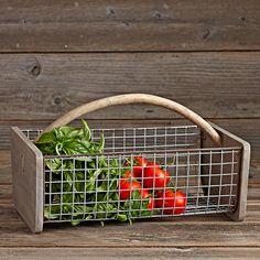 Gathering Basket: Williams-Sonoma (Gardenista)