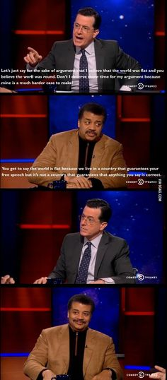 pp: Neil deGrasse Tyson for the win (Two people that I would leave my husband for if given the opportunity. And yes, I have informed him of that.)