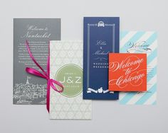 Welcome Notes and Maps | Cheree Berry Paper