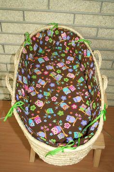 Sew Can Do: Moses Basket Redo - Bedding Tutorial