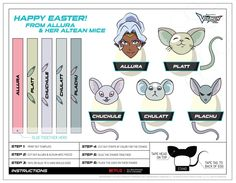 "nandireya:  "" Space mice names confirmed!  From http://www.dreamworkstv.com/wp-content/uploads/2015/07/Voltron_Easter_Eggs.pdf ""  I have been looking for a guide to which mouse was which for ages! :D Yay! :D"