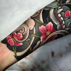 Done. Thank you!! #irezumi #tattoo #cheongho #cheonghotattoo #newschool #japanesetattoo #ink #tattooart #청호타투 #타투 #청호 #대전타투 #강남 #강남타투 #세종타투