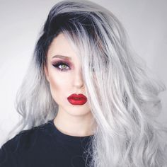 Likes, 111 Comments - Lupe Sujey Cuevas Brown Lip, Alternative Girls, Lip Liner, Wigs, Cosmetics, Instagram Posts, Pretty, Hair, Beauty