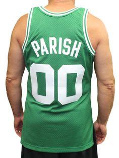 4404dda91 Mitchell   Ness Boston Celtics Robert Parish Swingman Jersey NBA Throwback  Green
