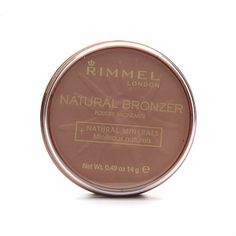 LOVE - Rimmel London Natural Bronzer in Sun Light - Matte and not too dark for my pale skin, gives me a great, very natural sun-kissed look!