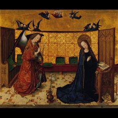 Meister des Marienlebens: The Annunciation