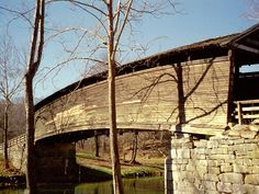 Humpback Bridge in Alleghany County, Virginia.