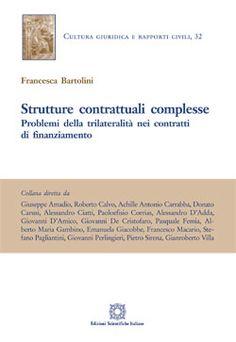 Strutture contrattuali complesse / Francesca Bartolini Edizioni Scientifiche Italiane, 2019 Money Clip