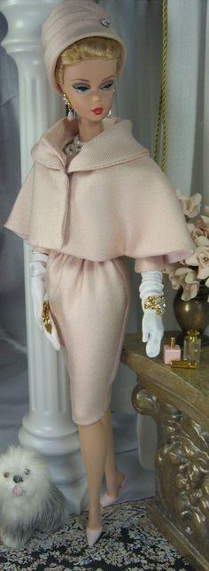 Pink Opal for Silkstone Barbie and similar size dolls Barbie Dress, Barbie Clothes, Barbie Stuff, Poupées Barbie Collector, Vintage Outfits, Vintage Fashion, Poppy Parker, Vintage Barbie Dolls, Little Doll