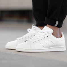 阿迪达斯板鞋低帮男鞋StanSmith史密斯女鞋白金绿尾休闲鞋S75024
